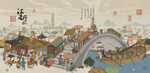 江南百景图全版本合集 最是江南好风光